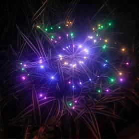 Feimefeiyou Lampu Solar Hias Dekorasi Kembang Api Firework 120 LED - 2G22 - Multi-Color