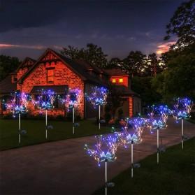 Feimefeiyou Lampu Solar Hias Dekorasi Kembang Api Firework 120 LED - 2G22 - Multi-Color - 2