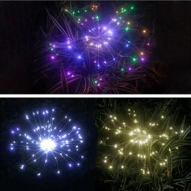Feimefeiyou Lampu Solar Hias Dekorasi Kembang Api Firework 120 LED - 2G22 - Multi-Color - 3