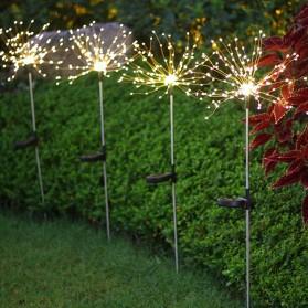 Feimefeiyou Lampu Solar Hias Dekorasi Kembang Api Firework 120 LED - 2G22 - Multi-Color - 5