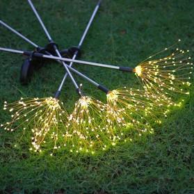 Feimefeiyou Lampu Solar Hias Dekorasi Kembang Api Firework 120 LED - 2G22 - Multi-Color - 6