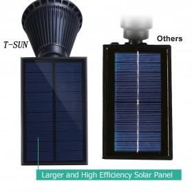 T-Sun Lampu Taman Energi Solar Panel Outdoor Light RGB 7 LED - TS-G0102 - Black - 3