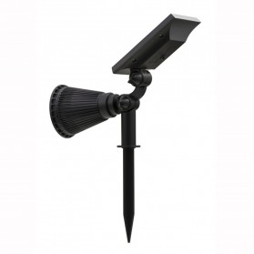 T-Sun Lampu Taman Energi Solar Panel Outdoor Light RGB 7 LED - TS-G0102 - Black - 7