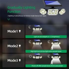SMUXI Lampu Solar Panel Sensor Gerak Outdoor Waterproof 78 LED - TG-TY051 - Black - 3