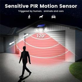 SMUXI Lampu Solar Panel Sensor Gerak Outdoor Waterproof 78 LED - TG-TY051 - Black - 5