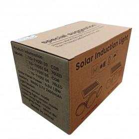 SMUXI Lampu Solar Panel Sensor Gerak Outdoor Waterproof 78 LED - TG-TY051 - Black - 8