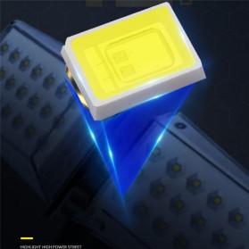 CTOSY Lampu Solar Panel Sensor Gerak PIR Outdoor Waterproof 42 LED - F83791 - Black - 10