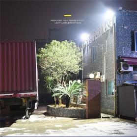 CTOSY Lampu Solar Panel Sensor Gerak PIR Outdoor Waterproof 42 LED - F83791 - Black - 7