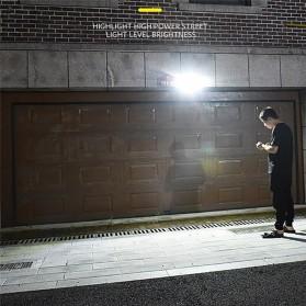 CTOSY Lampu Solar Panel Sensor Gerak PIR Outdoor Waterproof 42 LED - F83791 - Black - 8