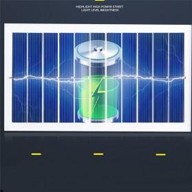 CTOSY Lampu Solar Panel Sensor Gerak PIR Outdoor Waterproof 42 LED - F83791 - Black - 9