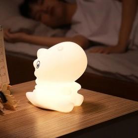 Free On Lampu Tidur LED Silicone Lamp Decoration Model Dinosaurus - LJC-140 - White
