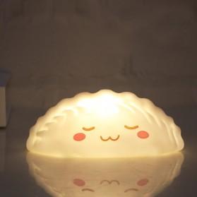YuYiYuan Lampu Tidur Anak LED Light Smiley Dumpling Model Xingfu - YY01 - White