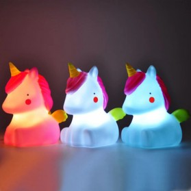 FGHGF Lampu Tidur Anak LED Light Cute Smiley Model Bintang - FGH01 - Blue - 2