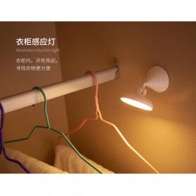 KINGOFFER Lampu LED Mini Tempel Motion Sensor - GY11 - White - 7