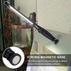 CHIN TORCH Lampu Lantera LED Darurat Emergency Light Portable Magnetic COB - JW821 - Black - 2