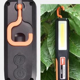 QIUBOSS Lampu Lantera LED Darurat Emergency Light Portable Magnetic COB - G-998 - Black - 5