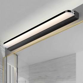 JUSHENG Lampu Cermin LED Modern Linear Wall Light Black Frame Cool White 14W 62 cm - 5960-R - Black