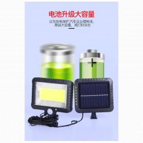 QuadG Lampu Taman Solar Sensor Gerak Outdoor Weatherproof 42 LED - L450 - Black - 2