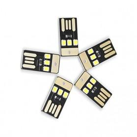 CozyLife Lampu LED Mini USB 3x2835 SMD Chip Cool White - CZ28 - Black - 2