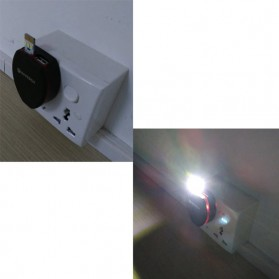 CozyLife Lampu LED Mini USB 3x2835 SMD Chip Cool White - CZ28 - Black - 4
