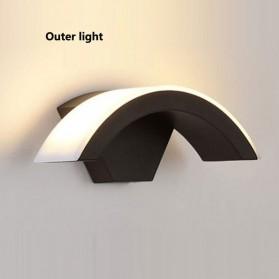 PDQ Lampu LED Sensor Gerak Outdoor Outer Light Weatherproof 15W - 03120 - Black