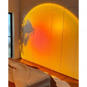 YUEYI Lampu Proyektor LED Night Light Wall Decoration Lightning Sunset Red Projector 5W - 02201 - Red - 5