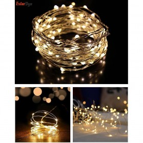 ANBLUB Lampu String Hias Dekorasi Fairy Party Decoration 50 LED 5 Meter - 2G55 - Warm White
