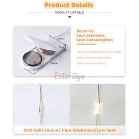 ANBLUB Lampu String Hias Dekorasi Fairy Party Decoration 50 LED 5 Meter - 2G55 - Warm White - 3