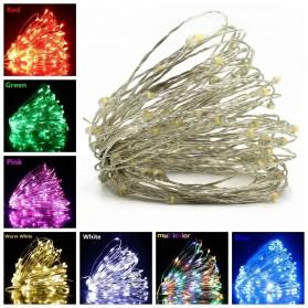 ANBLUB Lampu String Hias Dekorasi Fairy Party Decoration 50 LED 5 Meter - 2G55 - Mix Color