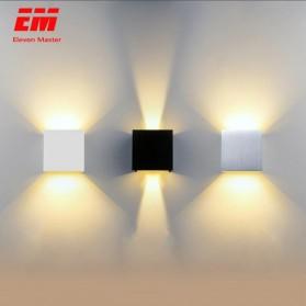 Eleven Lampu LED Hias Dinding Minimalis Wall Lamp 7W - W19003 - Black