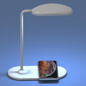 DIGAD Lampu Meja Belajar LED Qi Wireless Charging 15W - T1200 - White