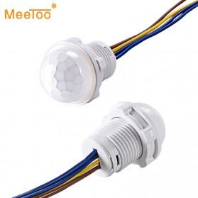 MeeToo DIY PIR Infrared Motion Sensor Detector Smart Switch 1PCS - Mee10 - White - 1