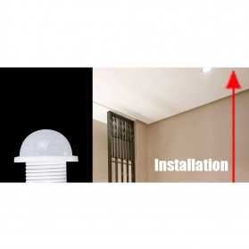 MeeToo DIY PIR Infrared Motion Sensor Detector Smart Switch 1PCS - Mee10 - White - 5