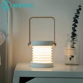 NEWSTYLE Lampu Baca LED Lantera Lipat Flexible Rechargeable - JP-DLD - White