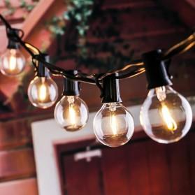 Dongdahua Lampu Hias Dekorasi Ball Fairy Light 7.6M 25 Bulb 3W Warm White - GY25 - Black