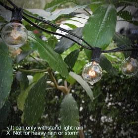 Dongdahua Lampu Hias Dekorasi Ball Fairy Light 7.6M 25 Bulb 3W Warm White - GY25 - Black - 5