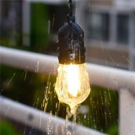 RAYWAY Lampu Hias LED Dekorasi Retro Edison String Light 5M 15 Bulb 2W Warm White - GY26 - Warm White - 4