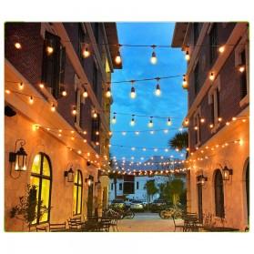 RAYWAY Lampu Hias LED Dekorasi Retro Edison String Light 5M 15 Bulb 2W Warm White - GY26 - Warm White - 9