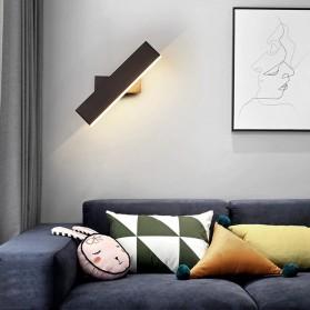 LITU Lampu LED Dekorasi Rumah Indoor Wall Lamp Warm White - WA311 - Black