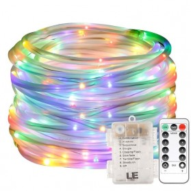 ANBLUB Lampu String Hias Dekorasi 100 LED 12 Meter + Remote - LISM-12 - Mix Color