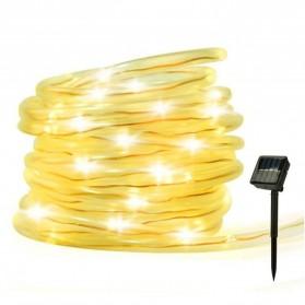 ANBLUB Lampu String Hias Dekorasi RGB Solar Power 100 LED 12 Meter  LISM-10 - Warm White