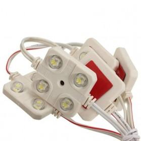 OLOEY Lampu Interior Mobil LED Neon 5x4 Sticker Light - OL545 - White