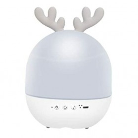 Lampu Malam / Lampu Tempat Tidur - AOKAILA Lampu Proyektor LED Night Light Atmosphere - AO-93 - Gray