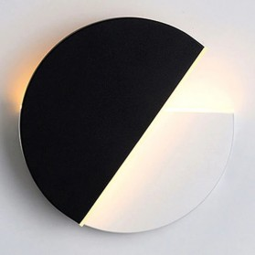 Vecli Lampu Hias Dinding LED Night Light 10W Warm White - 8902 - Black