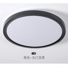 FoT Lampu LED Plafon Nordic Ceiling White Light 24W 30cm - FoT301 - Black