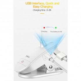 Yage Lampu Meja Belajar LED Clip Circle Design 5700-7300K - YG-T102 - White - 8