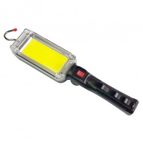 CoBa Senter Lampu Gantung Lantera Emergency Floodlight Light Stick Rechargeable 700 Lumens - ZJ-8859-B - Red/Black
