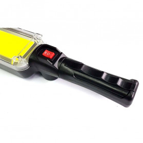 CoBa Senter Lampu Gantung Lantera Emergency Floodlight Light Stick Rechargeable 700 Lumens - ZJ-8859-B - Red/Black - 2