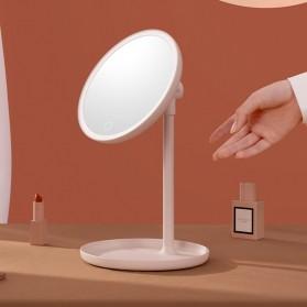 Sothing Sunlight Cermin Make Up Lampu LED Ring Light Liftable Mirror - DSHJ-S-2003 - White