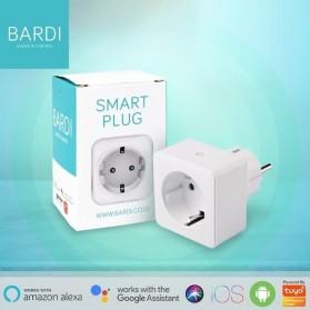 Bardi Smart PLUG WiFi Wireless Colokan IoT Smart Home - White